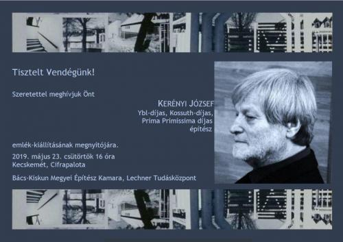 Kerényi József emlék-kiállítás